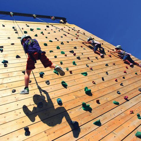 Butlins Climbing wall