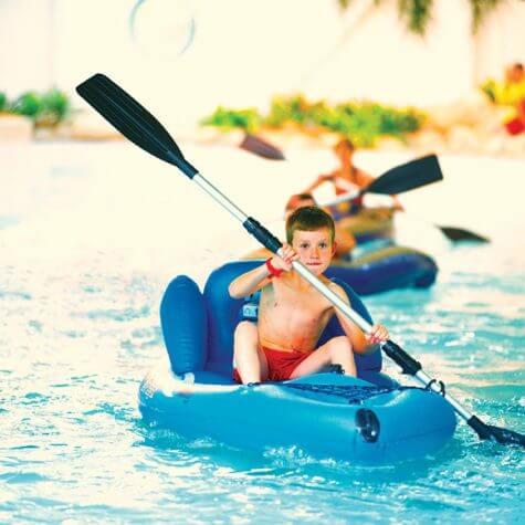 Butlins Canoeing