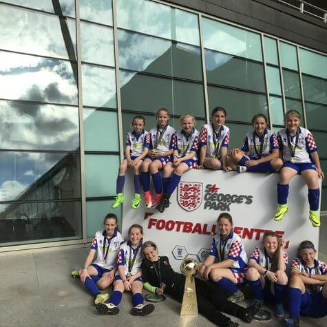 Girls Junior Football Tours